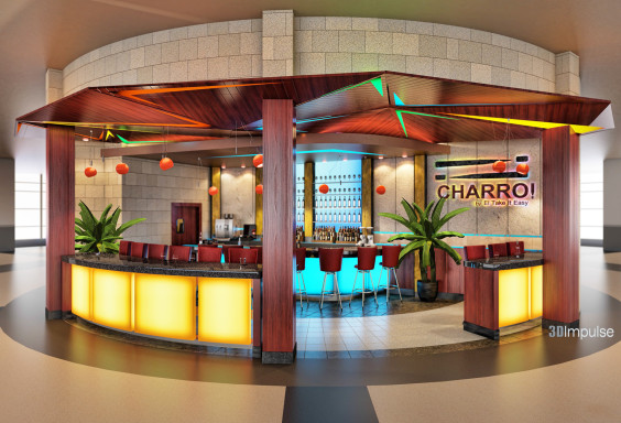 Airport Restaurant Bar Charro View 2