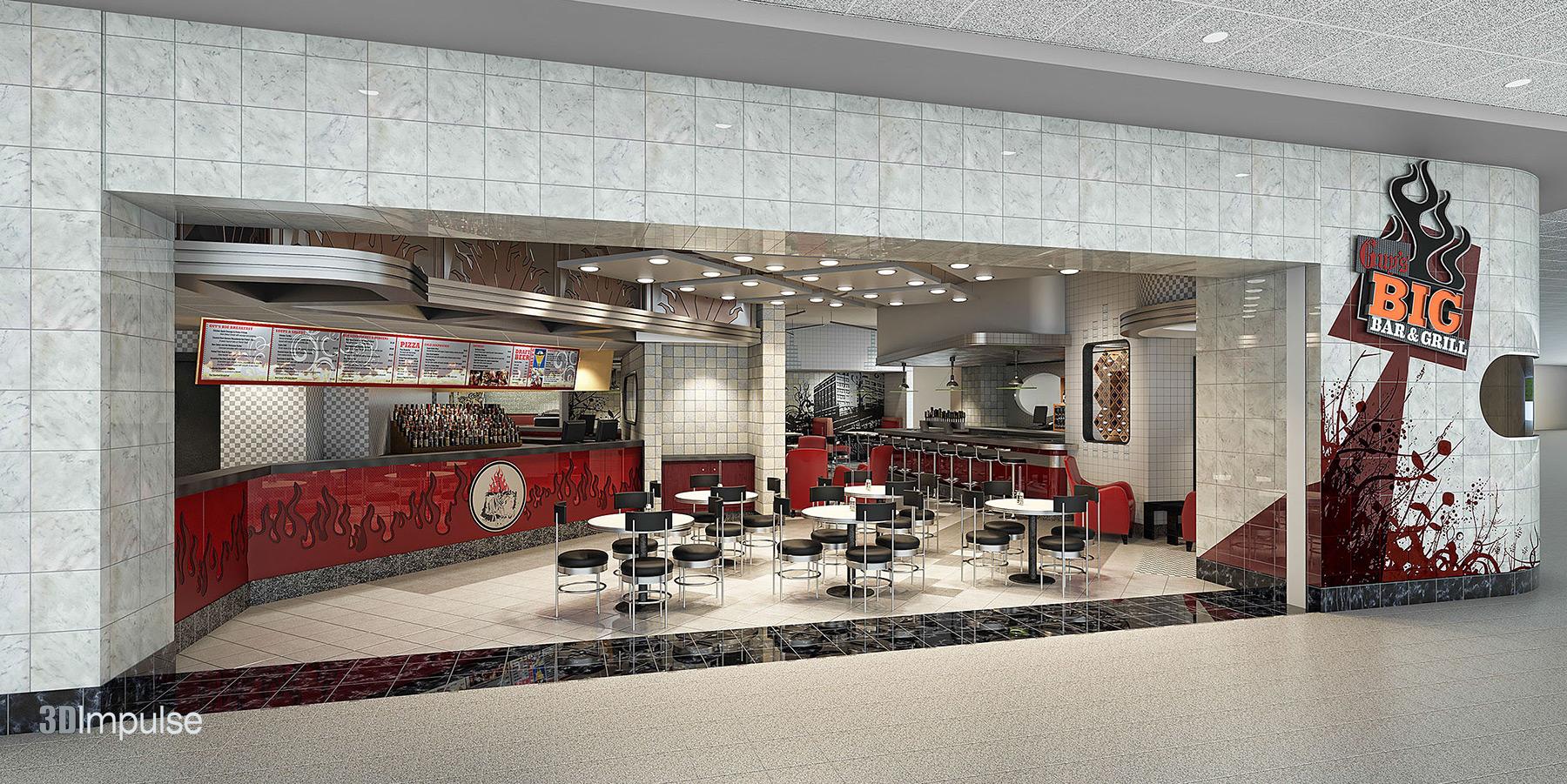 Airport-Restaurant-Diner-Storefront