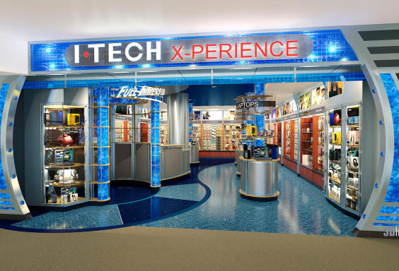 Airport Retail Store ITech Xperience DIA